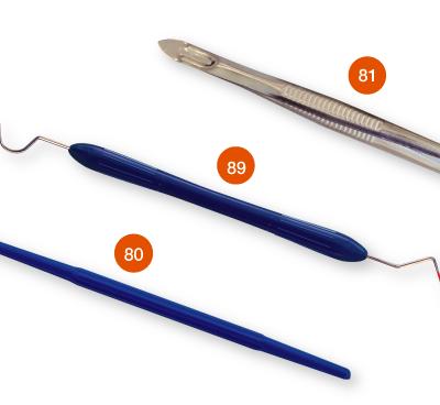 51 MDDI Sterile three instrument Exam Perio kit