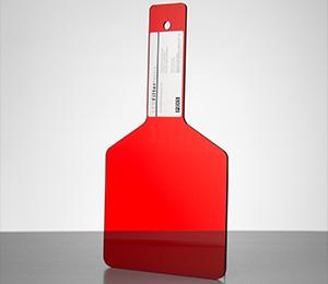 35103 LED Red Paddle