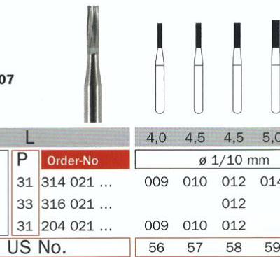 55068 Burs Carbide RA - Copy