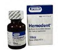 Haemostatic Gels Hemodent