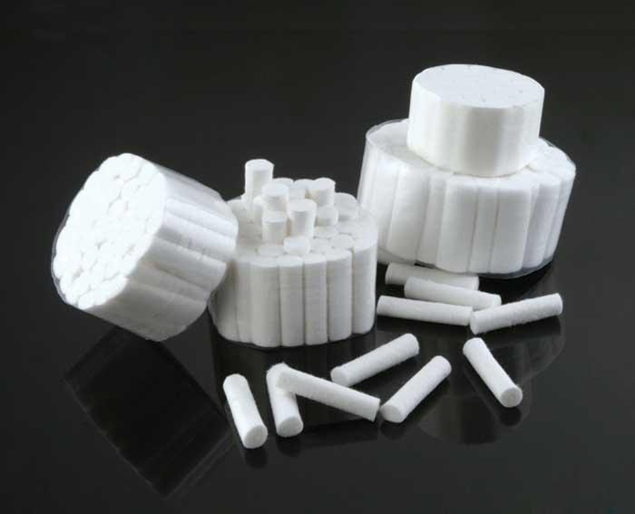 Dental Cotton Rolls Shadeguide