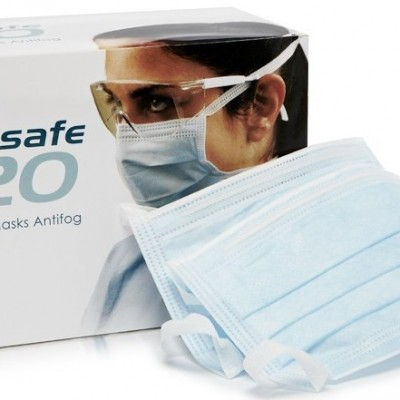 ONGARD Tie-On Face Masks - 50/box