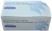 PROMED Surgical Earloop Face Masks - 50/box